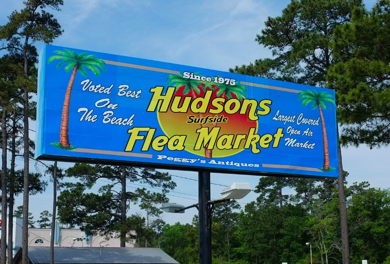 Myrtle Beach Hudson Surfside Flea Market